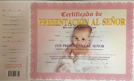 Certificados Cristianos Pablo Penantly Co