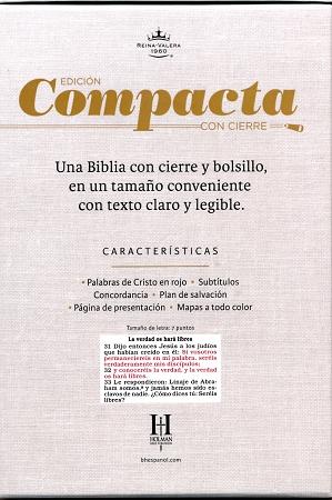 BIBLIA RV60 COMPACTA (con cierre, fucsia/cebra símil piel ...
