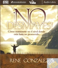 AUDIO LIBRO CD NO DESMAYES - Rene Gonzalez