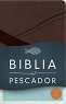 BIBLIA RV60 DEL PESCADOR (Simil piel Chocolate) - Luis Angel Diaz-Pabon